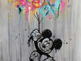 Mickey and Minnie Mouse Wall Murals Seaty Look Away 3