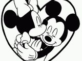 Mickey and Minnie Valentines Day Coloring Pages 25 Amazing Picture Of Mickey and Minnie Coloring Pages