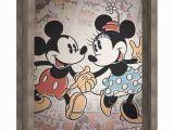 """Mickey and Minnie Wall Murals Mickey & Minnie Recessed Box 14""""x18"""" In 2019"""