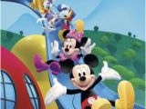 Mickey Mouse Clubhouse Mural Mickey Mouse Clubhouse Friends Equals Fun