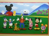Mickey Mouse Clubhouse Mural Mickey Mouse Clubhouse Mural Art by Me
