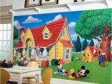Mickey Mouse Clubhouse Mural Mickey Mouse Clubhouse Wall Decals Nursery Ideas Disney Mickey