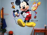Mickey Mouse Clubhouse Wall Mural Disney Mickey Mouse Wall Decals Ideas