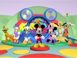Mickey Mouse Clubhouse Wall Mural Mickey Mouse Clubhouse Wallpaper Border Wallpapersafari