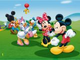 Mickey Mouse Clubhouse Wall Mural Mickey Mouse Kids Children Photo Wallpaper Wall Mural Room Decor