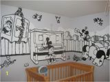 Mickey Mouse Mural Wall Coverings Nursery Spotlight Mickey Mouse Mural
