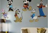 Mickey Mouse Wall Murals Fathead Classic Mickey Mouse and Friends Wall Decal