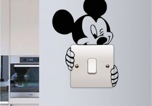 Mickey Mouse Wall Murals Mickey Mouse Wall Sticker Switch Vinyl Decal Funny Lightswitch Kids