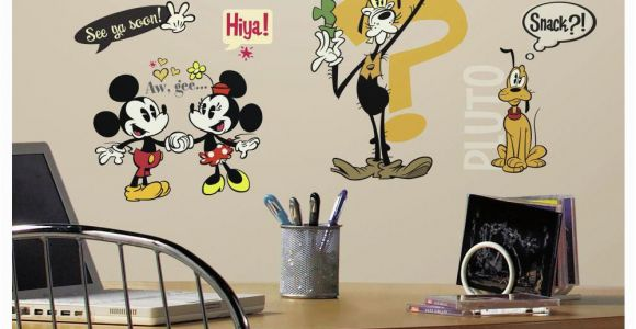 Mickey Mouse Wall Murals Rmk2327scs Mickey & Friends Mickey Mouse Cartoons Wall Stickers