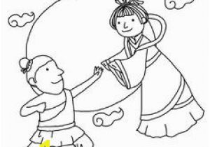 Mid Autumn Moon Festival Coloring Pages 43 Best Mid Autumn Festival Day Images On Pinterest