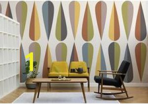 Mid Century Modern Wall Mural 261 Best Retro Wallpaper Murals Images