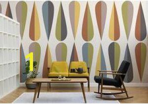 Mid Century Modern Wall Mural 261 Best Retro Wallpaper Murals Images