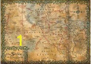 Middle Earth Map Wall Mural 416 Best Maps Of Middle Earth Images In 2019