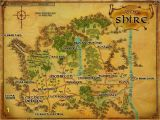 Middle Earth Wall Mural Lord Of the Rings Replica the Shire Map Poster