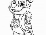 Mighty Pups Paw Patrol Coloring Pages Paw Patrol Mighty Pups Chase Coloring Pages Printable