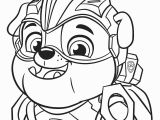 Mighty Pups Paw Patrol Coloring Pages Paw Patrol Mighty Pups Rubble Coloring Pages Printable