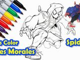 Miles Morales Spiderman Coloring Pages Miles Morales Coloring Pages Merseybasin