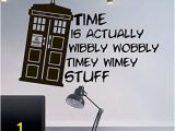 Millennium Falcon Wall Mural Wall Decal Doctor who Tardis Quote Time Travels Mural Sticker Decor Art Police Box Gift Dorm Bedroom M1626