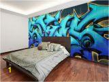 Minecraft Bedroom Wall Mural Graffiti