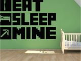 Minecraft Bedroom Wall Mural top 9 Most Popular Decorative Sleeping Room Wall Stickers