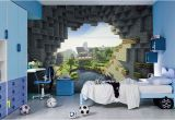 Minecraft Wall Mural Uk Minecraft Bedroom Ideas for Boys Enderman