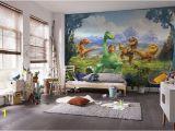 Minecraft Wall Mural Uk Wallpaper for Full Wall Disney the Good Dinosaur