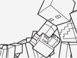 Minecraft Wolf Coloring Page Baby toysfo