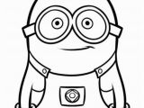 Minion Coloring Pages Bob Free Printable Coloring Page Despicable Me Minion 2