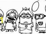 Minion Coloring Pages Bob Super Mario Minions