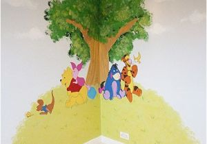 Minion Wall Mural Uk Winnie the Pooh and Friends Corner Feature Wall Mural