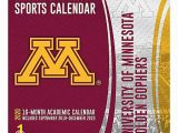 "Minnesota Gophers Coloring Pages Turner Licensing Ncaa 16 Month Academic Wall Calendar 12"" X 12"" Minnesota Golden Gophers September 2019 to December 2020 Item"