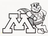 Minnesota Gophers Coloring Pages U Of M Coloring Pages