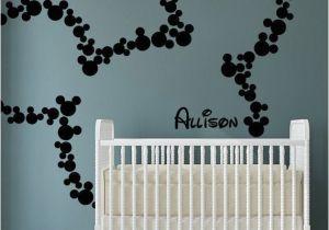 Minnie Mouse Wall Murals Les Plus Beaux Stickers Muraux Pour La Chambre De Bébé