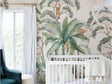 Minted Childrens Wall Murals Small Space Nursery tour Baby Room