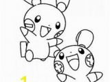 Minun Coloring Pages 92 Best Pokemon Coloring Pages Images On Pinterest