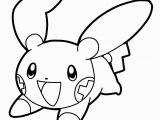 Minun Coloring Pages Free Pokemon Coloring Pages Schön Malvorlagen Pokemon Beste Malvorlage