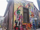Minute Maid Park Wall Mural Valparaiso Street Art In Chile