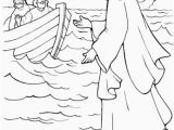 Miracles Of Jesus Coloring Pages Jesus Walking Water Coloring Page Jesus and the Children Coloring