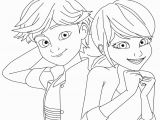 Miraculous Ladybug and Cat Noir Coloring Pages Cat Noir Coloring Page at Getcolorings