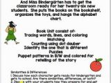 Miss Bindergarten Gets Ready for Kindergarten Coloring Pages Miss Bindergarten Gets Ready for Kindergarten Book Unit by Book