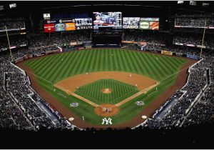 Mlb Stadium Wall Mural Baseball Stadium Wallpaper Murals Wonderfully Yankee Stadium
