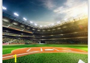 Mlb Stadium Wall Mural Baseball Wall Murals S Wall and Door Tinfishclematis