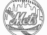 Mlb Team Logos Coloring Pages New York Mets Coloring Page Baseball Team Logo at Yescoloring