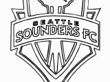 Mls Coloring Pages sounders soccer