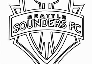 Mls soccer Coloring Pages sounders soccer