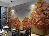 Modern Art Wall Mural Amazon Pbldb Custom Size Background 3d Wall Paper