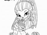 Monster High Color Pages Baby Monster High Coloring Pages