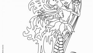 Monster High Coloring Pages Freaky Fusion Monster High Freaky Fusion Bonita Femur Coloring Pages