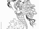 Monster High Coloring Pages Freaky Fusion Monster High Freaky Fusion Sirena Von Boo Coloring Pages