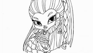Monster High Coloring Pages Printable Baby Nefera De Nile by Jadedragonne